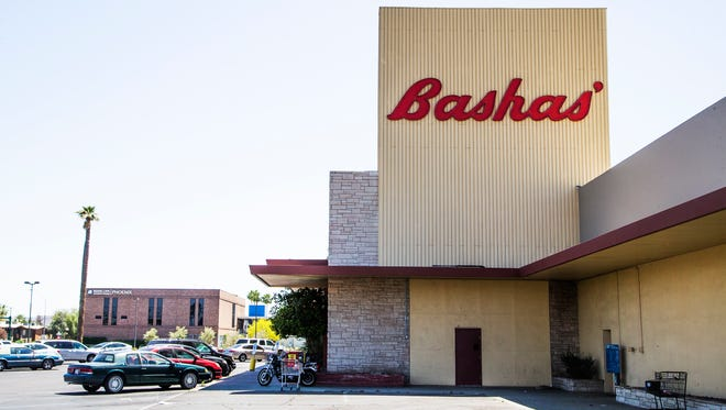 This Basha's store at Seventh Avenue and Osborn Road in Phoenix is scheduled to close.