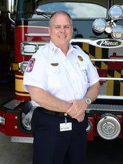 Salisbury Fire Chief Rick Hoppes will step down as