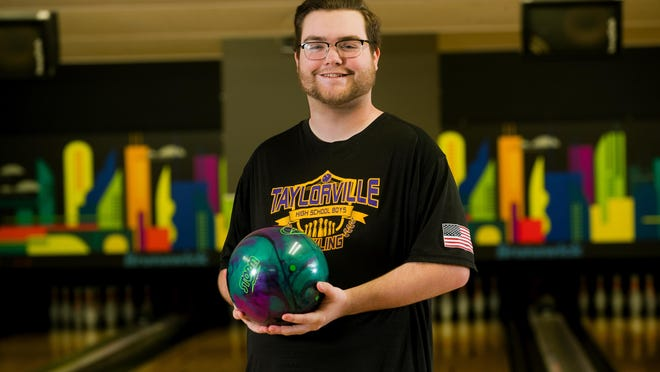 Taylorville High School's Mike Wells is The State Journal-Register's All-Area Boys Bowler of the Year.