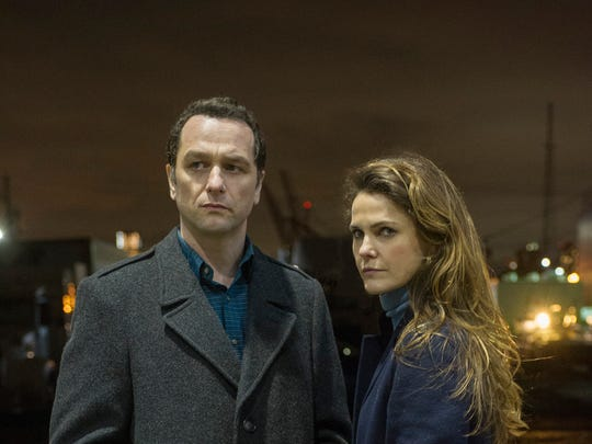 "Keri Russell as Elizabeth Jennings and Matthew Rhys as Philip Jennings in the series finale of ""The Americans."""