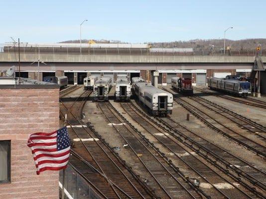 Croton-Harmon train yard