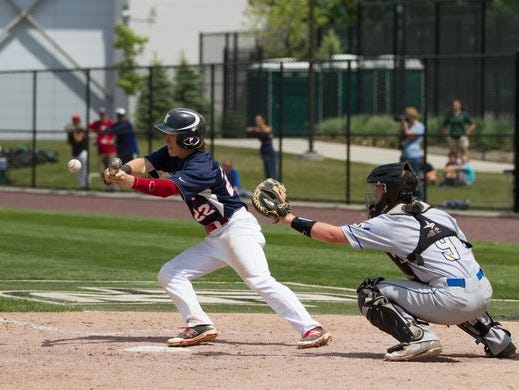 Ketcham baseball falls to Webster Schroeder in the state semifinal on Saturday.