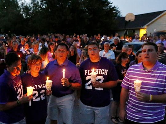 The family of homicide victim Amanda Strous held a candlelight vigil on Monday, June 20, 2016, to honor her memory. (Dawn J. Sagert photo)