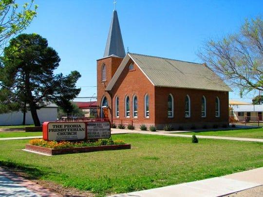 Peoria/First Presbyterian Church (1899).