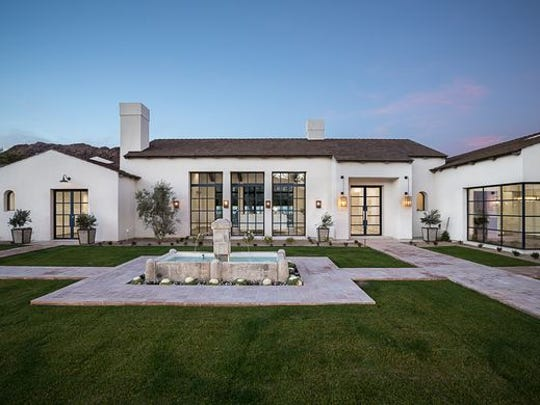 This 7,000-plus-square-foot home in the Paradise Home Estates community in Paradise Valley was purchased by Dr. Rajeev Garg and his wife, Hema Khurana, from Tabarka Home LLC.