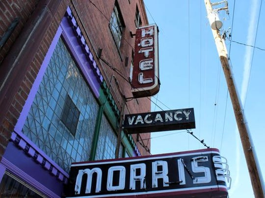 The Morris Burner Hotel is one of the stops on the Balloons and Blues Strut Sept. 10.