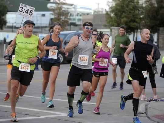 ALM Race director Joe Millar said 1,400 runners have