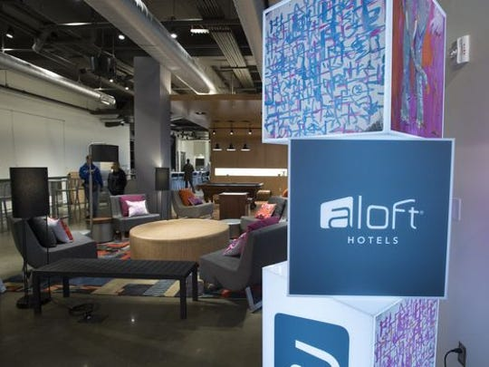 Greenville's Aloft Hotel will host art shows in the coming weeks.