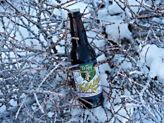 "In Stowe, Vt., von Trappe's Trösten Lager, German for ""comfort beer"" is a smoky lager best enjoy fireside on a chilly day."