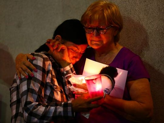 A vigil dedicated to finding Breanna Wood was Oct.