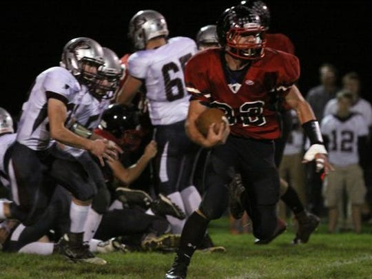 Abbotsford senior Brock Halopka will play for the North team in the WFCA Small School All-Star Game.