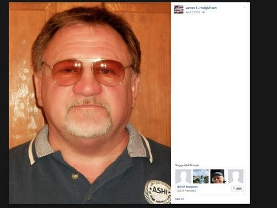 This is a screen grab from the Facebook page of James T. Hodgkinson. Hodgkinson who allegedly opened fire during a congressional baseball practice in Alexandria, Va.