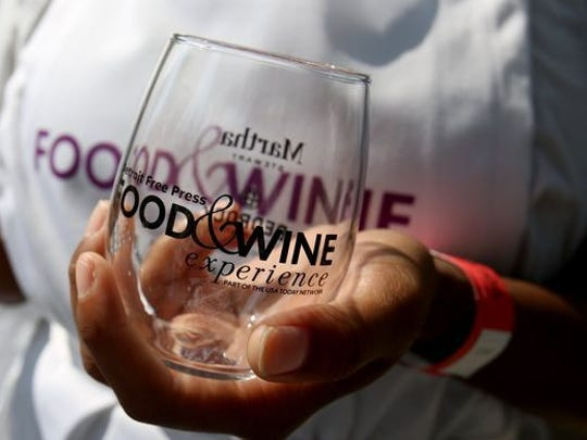Logo glasses are yours to keep at USA TODAY Network Food & Wine Experience events planned at 10 locations throughout the country. The culinary tour will feature Martha Stewart, Duff Goldman and local chefs when it takes place Oct. 1 in Ventura.