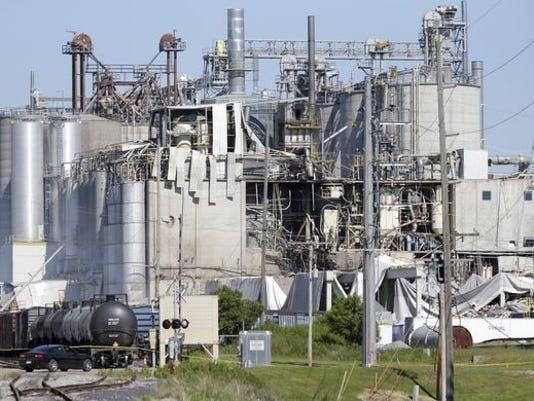 Grain mill explosion