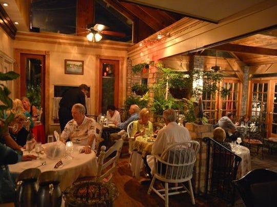 Inside view of 11 Maple Street restaurant in Jensen