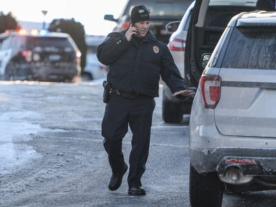 Newberry Twp. Police Chief John Snyder, seen here during a December 2017 standoff, will become West Manchester Township's new police chief on March 5, 2018.