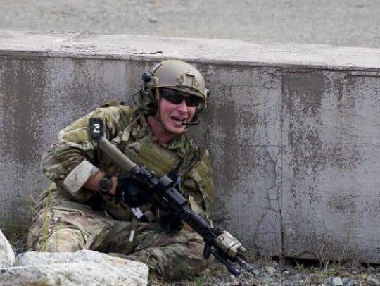 U.S. Air Force Staff Sgt. Carl Enis, pararescueman