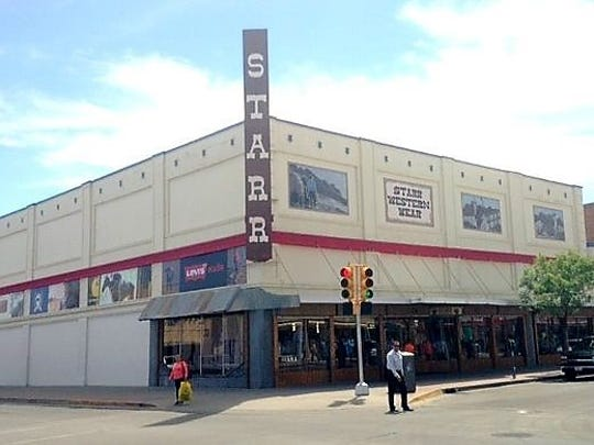 Starr Western Wear, at 112 E. Overland Ave., in Downtown,