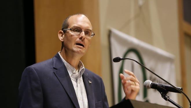 Rep. Jesse Kremer is author of the free speech bill.