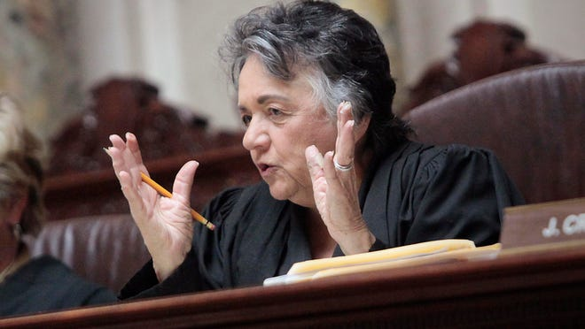 Chief Justice Shirley Abrahamson has served on the state Surpreme Court for 37 years, 17 of them as chief justice. A Republican-backed constitutional amendment seeks to change the way the court chooses its chief justice.