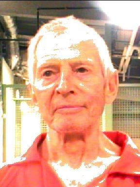 Robert Durst poses for a mugshot photo after being arrested and detained March 14 in New Orleans. He has been arrested on a first-degree murder charge in Los Angeles in the death of his friend Susan Berman.