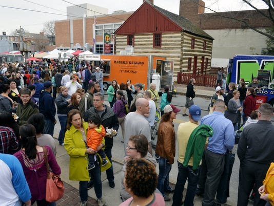 The Foodstruck event brings a number of food trucks to York City each year.