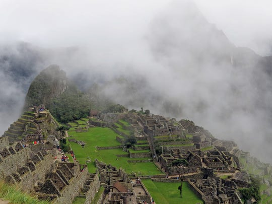 A cloud forest is a part of the mystique at Peru's Machu Picchu, designated one of the seven new Wonders of the World in 2007.