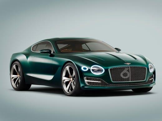 Bentley unveils hot sports car concept