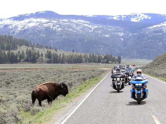 In past years, the Kyle Petty Charity Ride has toured