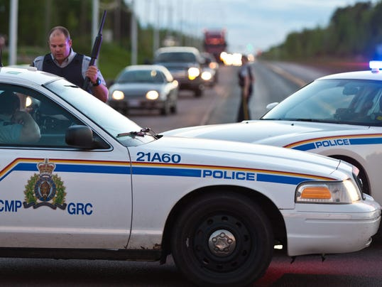 Canada officer shooting