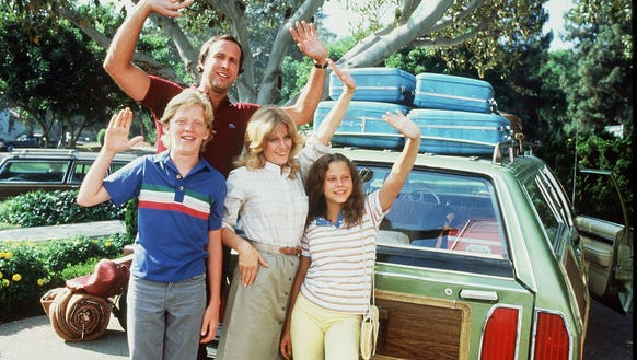 """Chevy Chase in """"National Lampoon's Vacation"""""""