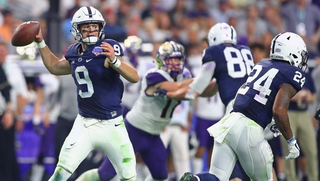 Trace McSorley had two touchdown passes in Penn State's Fiesta Bowl win.