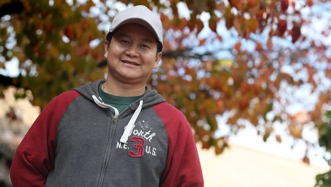 Sarn Lee is preparing to open his new restaurant Bonsai Sushi Fusion in Churn Creek Plaza.