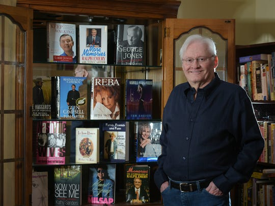 Nashville author Tom Carter stands in his Bellevue
