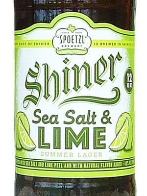 Shiner Sea Salt and Lime Summer Lager