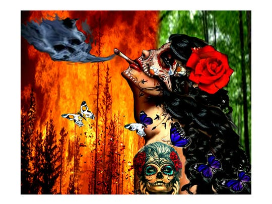 """From Life to Death,"" by Jennifer Ramos, Phoenix Trevor G. Browne High School."