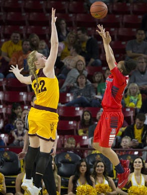 Round 2 of the ASU vs. Arizona women's basketball rivalry will be played Sunday in Tucson.