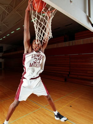 Kobe Bryant as a senior at Lower Merion HIgh School in Ardmore, Pa.
