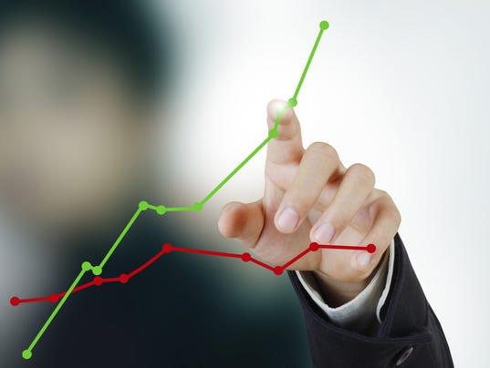 #stockphoto - business stocks graph