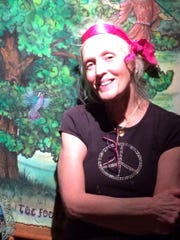 Recalcitrant hippie Melinda Moulton of Huntington pictured in present day.