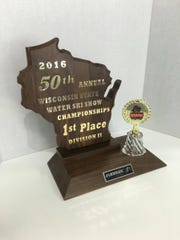 Wisconsin State Water Ski Show Championships trophy