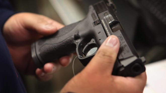 One in three adults own a gun in Indiana.