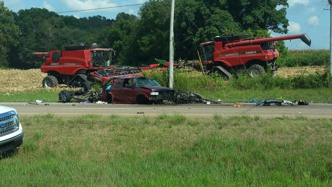 Tennessee Highway Patrol has confirmed a person was ejected during a crash on Highway 79 between McKenzie and Paris Monday afternoon.