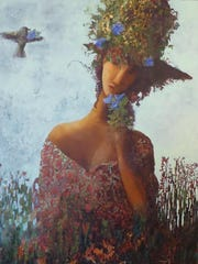 """""""Morning Glory"""" by Kristy Goggio, part of Exhibit III"""