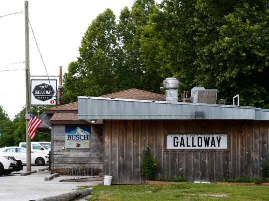 Galloway Grill on Lone Pine Avenue, one of the long
