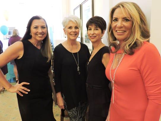 Models Heidi Monsour, Deb Pfrogner, Gail Maidrand and