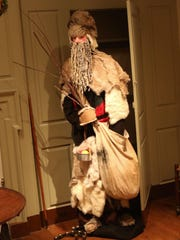One room at Yuletide honors Pennsylvania Dutch traditions, including the Belsnickel, a pre-Christmas visitor who would arrive and throw a handful of candy and fruit on the ground. If a child whose behavior wasn't up to snuff tried to get the candy, the Belsnickel would use his rod to steer the child away.