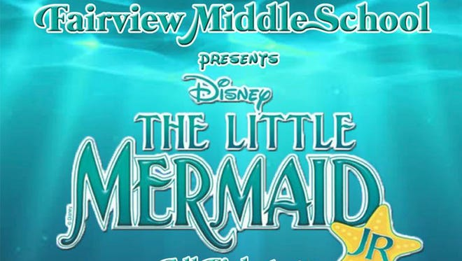Fairview Middle School theatre students will present The Little Mermaid Jr. November 9-11.