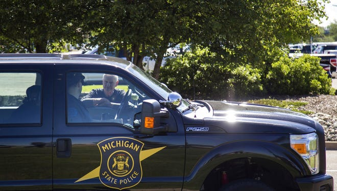 Michigan State Police investigated a fatal crash in Leroy Township Sept. 12, 2018.