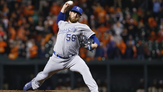 Greg Holland when he was with the Royals